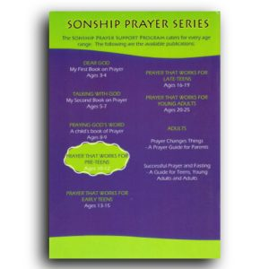 Prayer that works for preteens